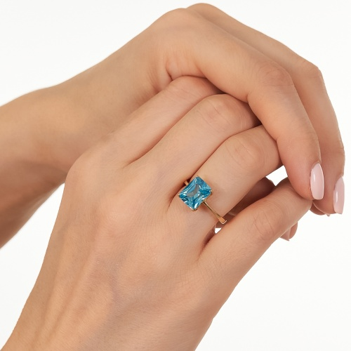 Ronia Blue Ring