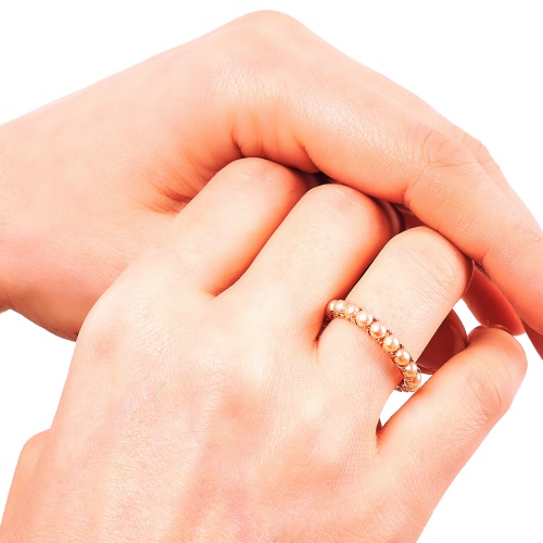 Abriela Small Rose Gold Ring