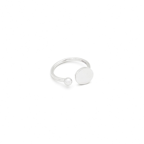 Inel Circle White Gold